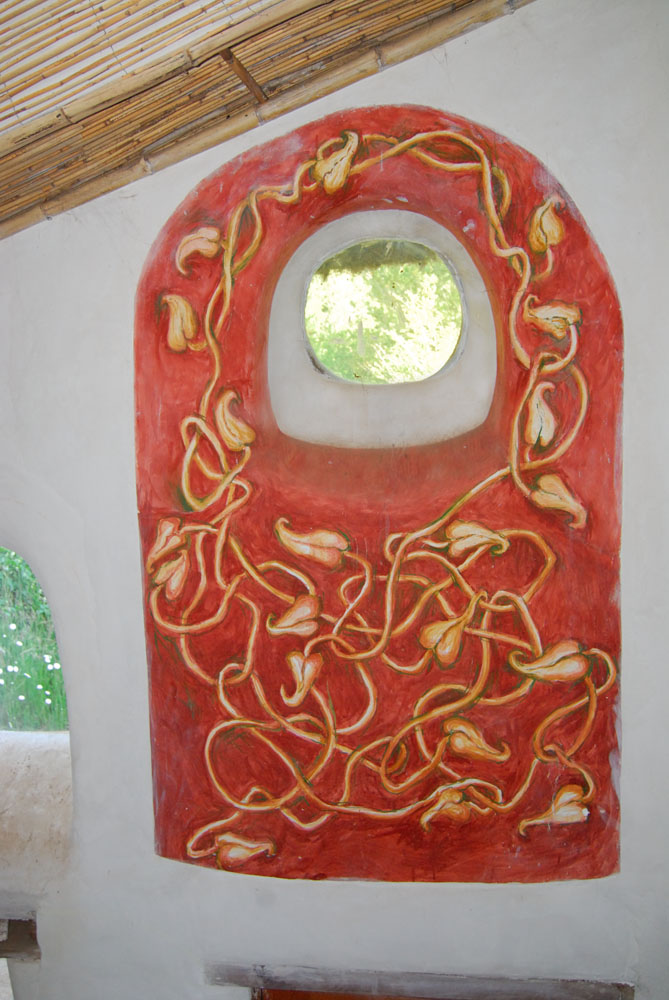 Fresco in the Laughing House