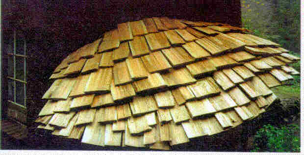 Cedar Shakes on a 3-Dimensional curved roof