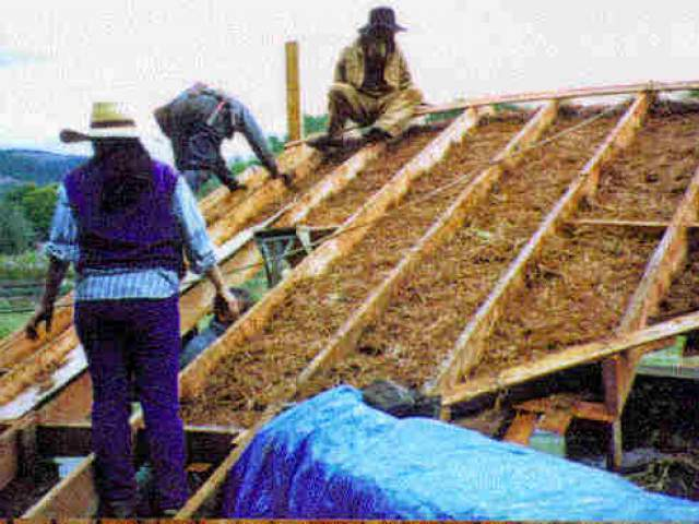 Roofs For Cob Houses Cob Cottage Company